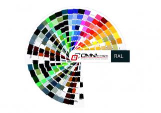 Parapety w kolorach RAL