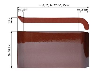 Parapet ceramiczny
